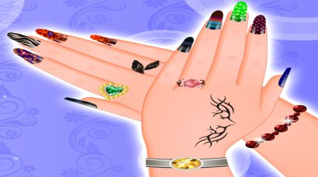 Screenshot - Finger Nail Decoration