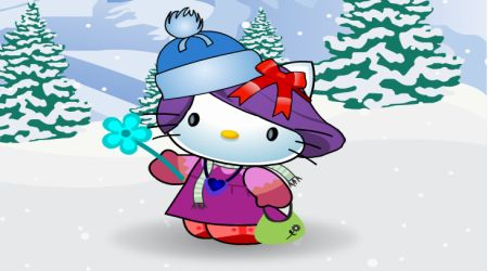 Screenshot - Hello Kitty Winter Dressup