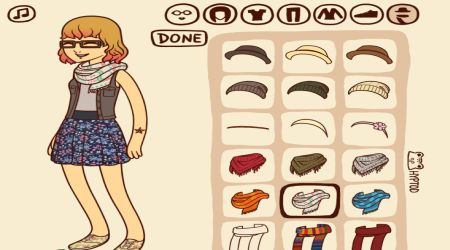 Screenshot - Hipster Girl Dress Up