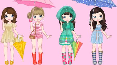 Screenshot - Rainy Day Dress Up Game